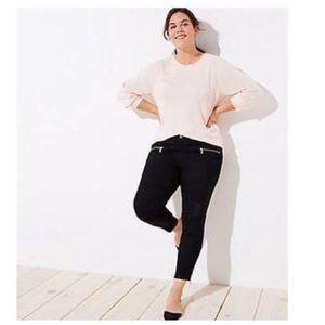 Loft | Women's Modern Ankle Zip Skinny Jeans 22